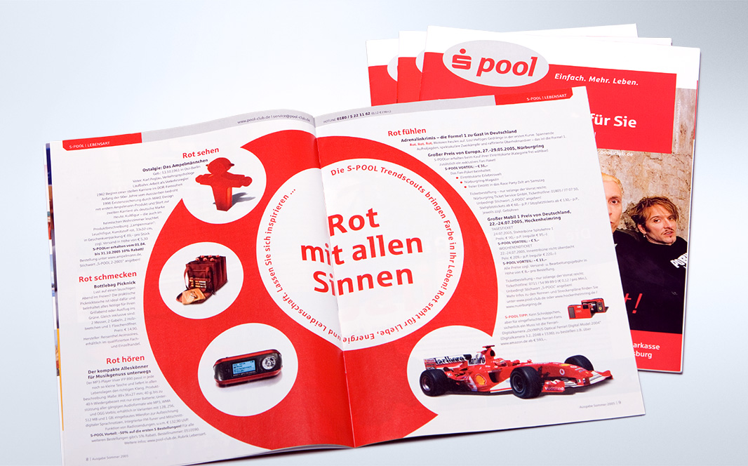 Corporate Design, Kundenmagazin/-mailing